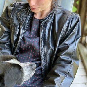 Lord & Taylor vintage leather jacket